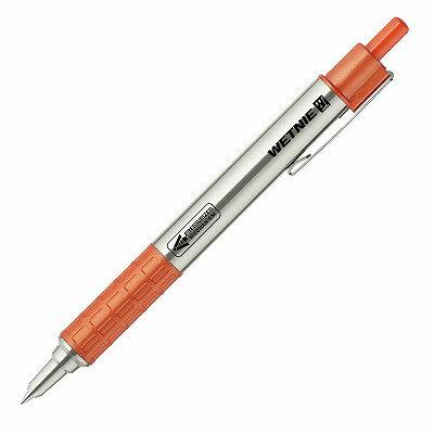 【ゼブラ】WETNIE 加圧式ボールペン0.7mm オレンジ1本入 P-BA100-OR