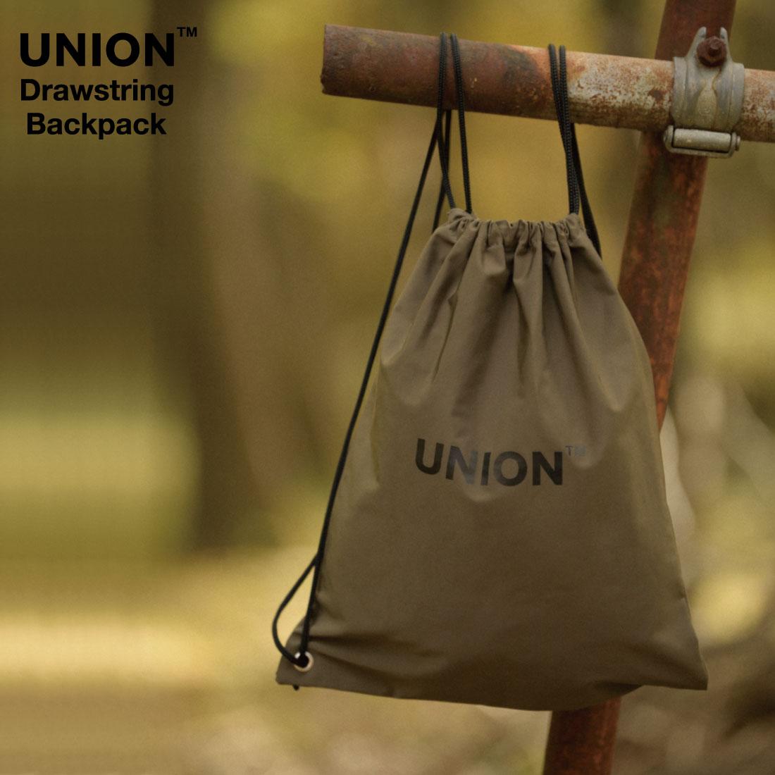 UNION/Drawstring Backpack/Knapsack/ユニオン/ドローストリング バックパック/ナップサック