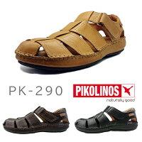 PIKOLINOSピコリノスメンズグルカサンダルPK-290ブラック/オーク/イエロー