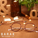 BARAK(バラク)CLASSICROUND度付メガネセット[眼鏡セット][送料無料][メタル][TR)][鼻パット交換可][1.60薄型非球面レンズ付]