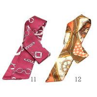 【在庫処分品|返品交換不可】スカーフツイリースカーフバッグスカーフサテンチャームバンダナバッグ用スカーフおしゃれ