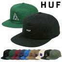 ハフ キャップ HUF ESS UNSTRUCTURED BOX SNAPBACK CAP TT メンズ 帽子 人気 ブランド ストリート ファッシ...