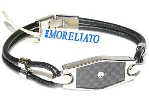 【送料無料】【手数料無料】MORELLATO5412モレラートアクセサリーダイヤモンドカーボンブレスレット