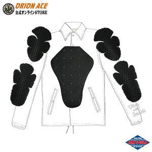 JAM'S GOLD 3点PAD SET【JGA-672】プロテクター パッドセット 肩・肘・脊髄セット バイク用 ツーリング 汎用 ユニセックス メンズ レディース