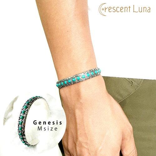 送料無料!CRESCENT LUNA(クレセントルナ) -Genesis- ブレスレット Mサイズ /アクセサリー/メン...
