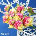 バラ 装飾用造花【花】バラ・ピンク(1個販売)とっても小さな...