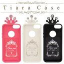 【iPhone SE 5s/5ケース】Happymori Tiara Case (ハッピーモリ ティアラケース)かわいい バータイプ 王冠 イヤフォン収納 ラインストーン キラキラ ハイドロカーボンポリマー素材 ピンク