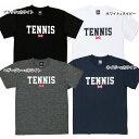 【マラソン中3%OFFクーポン】[ウェア]ABCオリジナルス 「TENNIS」ロゴ DRY T シャツ(w-0021)