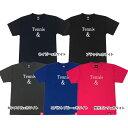 [ウェア]ABCオリジナルス 「Tennis&」ロゴ DRY Tシャツ(w-0078)