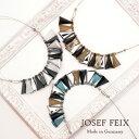 ドイツ製 JOSEF FEIX シャープデザイン三角形 ワイヤーネックレス レディースジュエリー アクセサリー インポート コスチュームジュエリー パーティー 結婚式 発表会 お呼ばれ