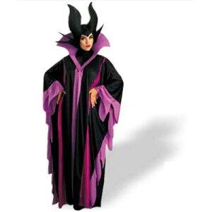 ディズニー「眠れる森の美女」魔女【コスチューム】ハロウィン衣装大人用/MaleficentDeluxe6406
