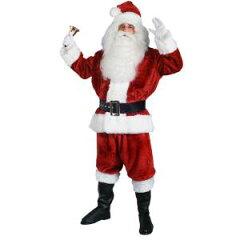【通常便なら送料無料】サンタ 衣装 コスプレ コス クリスマス サンタクロース 高級 大人用 セ...