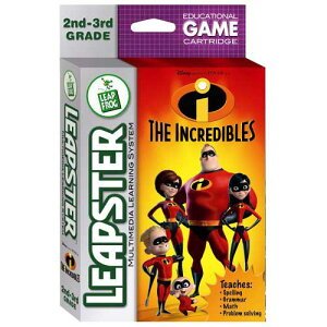 知育玩具リープスターソフト:Mr.インクレディブル/Leapster:TheIncredibles7997