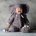 新生活 トム・アルマ ぞうさん ベビー服 コスチューム パジャマ 衣装 着ぐるみ きぐるみ キャラクター きぐるみ 出産祝い ハロウィン