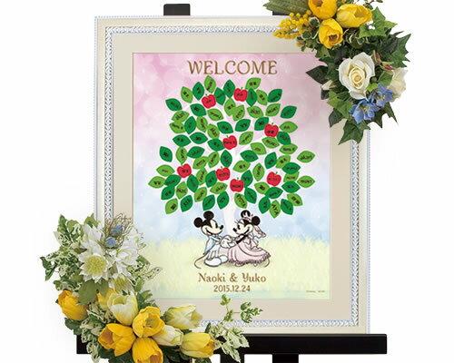 【Disney】ウェディングツリーウェルカムボードブライダルウェディングウエディングディズニーミッキー&ミニー(ツリー)bridal結婚式
