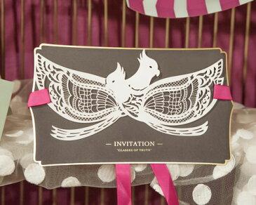 【ウエディング 招待状】 結婚式 手作りセット ワンダーランド 10枚セット 結婚式用手作りキット ブライダル ウェディング bridal 手作りキット