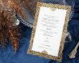メニュー表 手作りセット 結婚式 ウエディング 結婚式メニュー表 ボナペティG(ゴールド) 手作りキット ブライダル ウェディング bridal