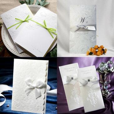 【ウエディング】 招待状 結婚式 席次表 手作りセット import結婚式招待状 手作りキット 無料サンプル ブライダル ウェディング bridal Wedding