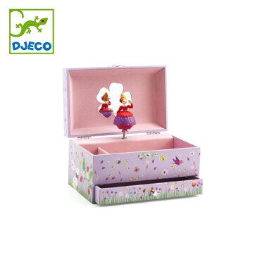 DJECO ジェコ プリンセスメロディー DJ06599 北欧 おもちゃ かわいい おしゃれ 女の子 オルゴール メイクボックス ジュエリーボックス アクセサリー 小物入れ 4歳 5歳 6歳 ギフト プレゼント 誕生日 クリスマスプレゼント あす楽