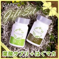 HUGmaca(はぐマカ)+葉酸サプリセット