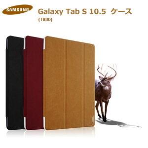 GALAXY Tab S 10.5 カバー レザー 手帳型 2つ折り タブレットカバー/タブレットケース Samsung/...