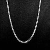 銀のテニスネックレス(PROPRE3105)