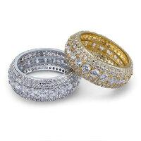 金と銀のリング(PROPRE5012)