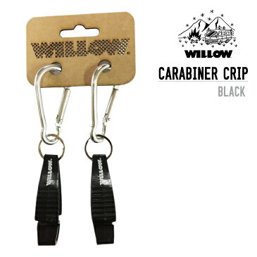 WILLOW ウィロー CARABINER CRIP カラビナ クリップ ハンギングベルト用 WLAC-409