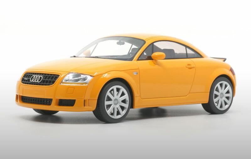 車, ミニカー・トイカー DNA Collectibles 118 TT 3.2 2003 AUDI Papaya Orange
