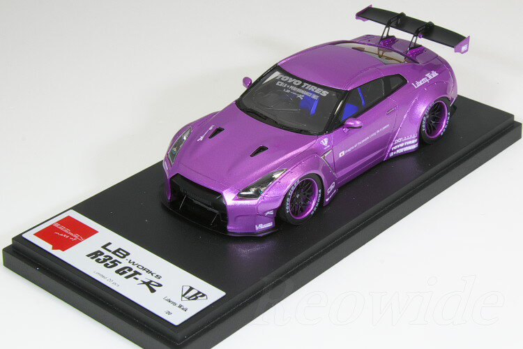 車, ミニカー・トイカー Make up EIDOLON 143 LBWORKS R35 GT-R R GT 20