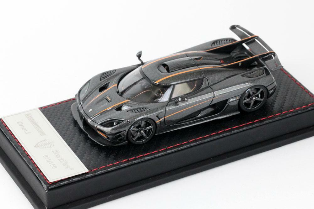 車, ミニカー・トイカー  143 One:1 Koenigsegg Agera One:1 carbon Frontiart