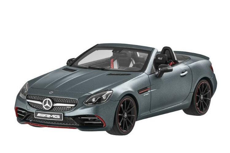 車, ミニカー・トイカー GT 118 AMG SLC 43 designo mountaingrau magno Mercedes