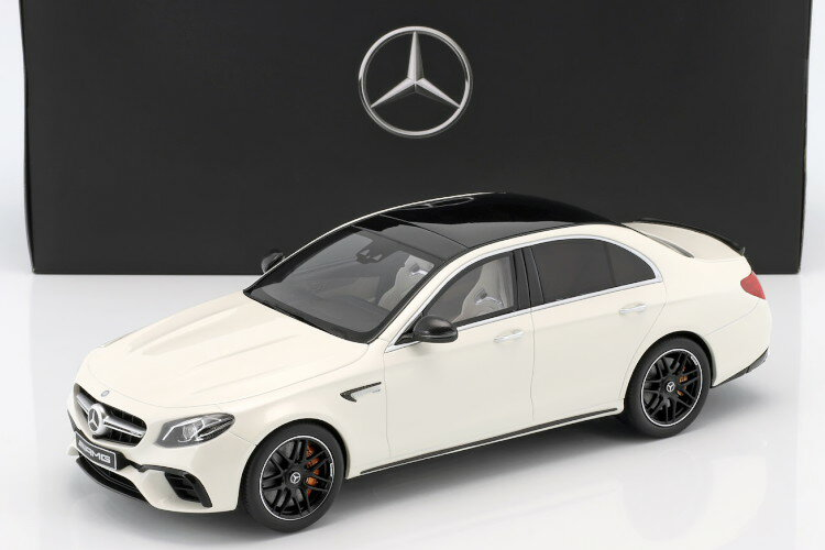 車, ミニカー・トイカー GT 118 E63 S AMG E W213 2017 GT SPIRIT Mercedes-Benz AMG E 63 S 4Matic Edition 1 Baujahr 2016 designo diamond weiszlig; bright
