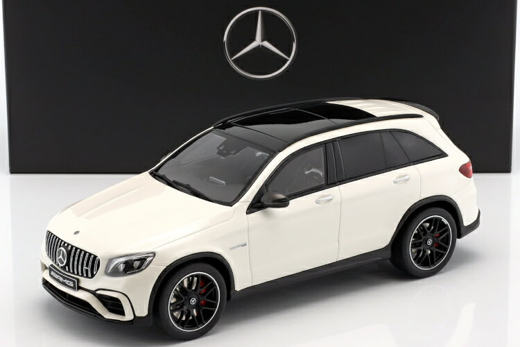 車, ミニカー・トイカー GT 118 GLC 63 AMG Mercedes-Benz AMG GLC63 SUV designo diamond white bright