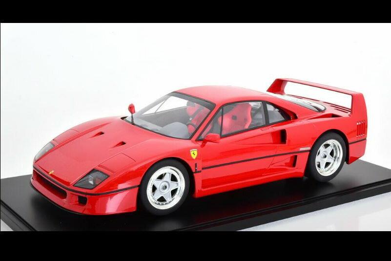 車・バイク, クーペ・スポーツカー GT 18 F40 1987 250 Ferrari red with showcase