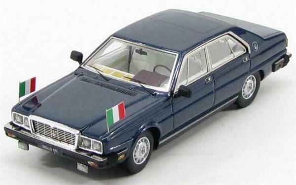 車, ミニカー・トイカー KESS 143 4.9 1983 PRESIDENTIAL PERTINI TV SERIES MASERATI - QUATTROPORTE 4.9 1983 BLUE SERA MET LIMITED 300 ITEMS