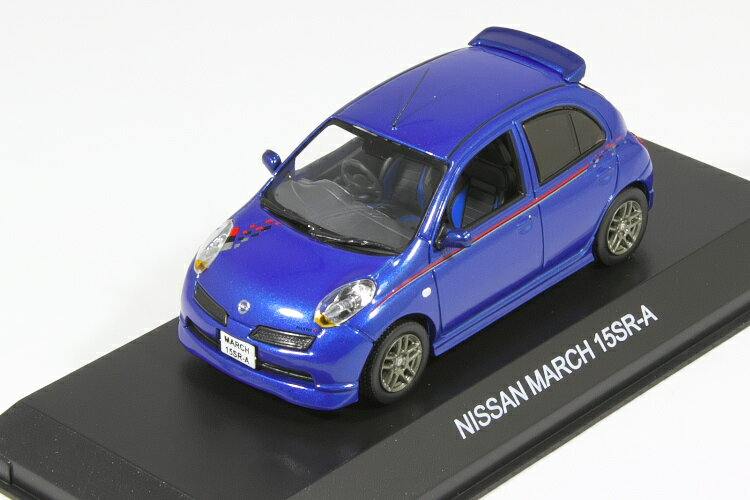 車, ミニカー・トイカー  143 15SR-A NISSAN MARCH 15SR-A with NISMO Stripe