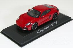 ミニチャンプス ポルシェ特注 1/43 ポルシェ ケイマン 981 GTS レッド Porsche Cayman