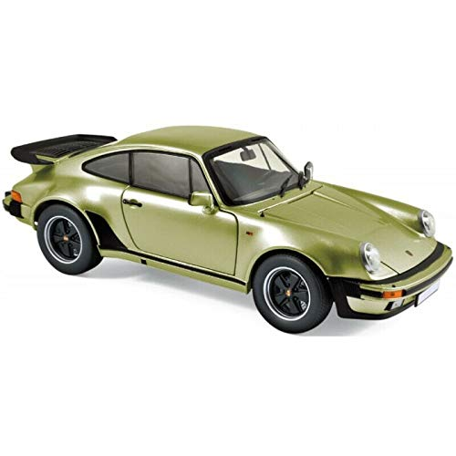 車, ミニカー・トイカー  118 911 3.3 1978 Porsche Turbo silver green metallic