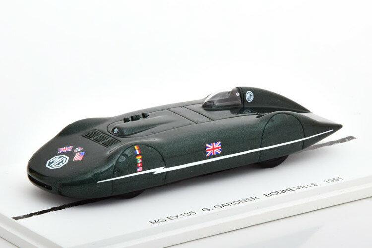 車, ミニカー・トイカー Bizarre 143 MG EX135 Class F Records 1951 Bonneville black Gardner