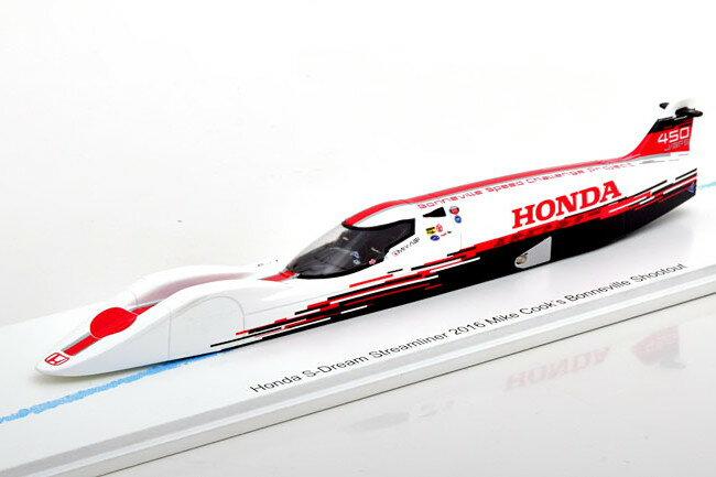 車, ミニカー・トイカー Bizarre 143 S- 2016 Honda Dream Streamliner