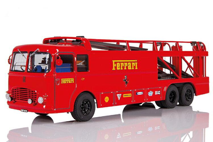 車, ミニカー・トイカー Exoto 143 Bartoletti 3062 Typ 2 1970 race car transporter Scuderia Ferrari