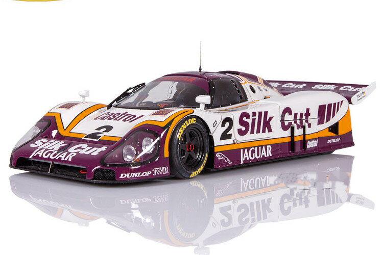 車, ミニカー・トイカー Exoto Models 118 XJR-9 1988 Jaguar Silk Cut Sieger Le Mans 1988 DumfriesLammersWallace