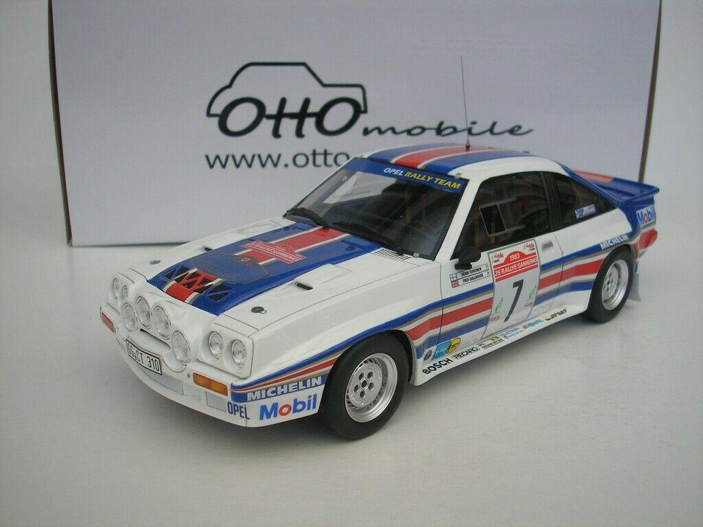 車, ミニカー・トイカー  OTTO 118 400R Gr B 7 1983 Opel Manta 4th Rallye SanRemo 1983 Opel Manta Rallye SanRemo 1983 Toivonen, Gallagher Henri Toivonen, Fred Gallagher Rothmans Opel Rally Team