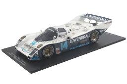 car.tima特注☆スパーク 1/18 ポルシェ 962 デイトナ 1987 優勝車 10台限定 Porsche Winner 24h Daytona Bell Holbert Unser jr.