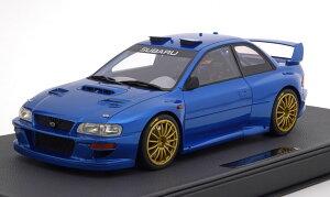 TOPMARQUES 1/12 スバル インプレッサ S4 WRC Ready to Race 優勝車 1998 50台限定 Subaru Impreza S4 WRC Winner Ready to Race 1998 bluemetallic Limited Edition 50 pcs