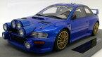 TOPMARQUES 1/18 スバル インプレッサ S4 WRC 2ドア ベースラリー 1998 ブルー SUBARU - IMPREZA S4 WRC 2-DOORS- BASE RALLY 1998