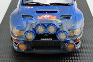 TOPMARQUES 1/18 スバル インプレッサ S4 WRC MCラリー 1998 #3 泥汚れあり Subaru Impreza MC Rally mud/dirty