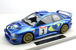 TOPMARQUES 1/18 スバル インプレッサ S4 WRC ツール ド コルス 1998 #3 Subaru Impreza Tour de Corse