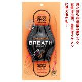 正規輸入品 黒マスク ブレスシルバー マスク ブレススクエア (BREATH SILVER SQUARE) 4層構造 ブレスマスク ナノマスク ブラックマスク プリーツマスク 大きめ 小顔 おしゃれ 使い捨て 韓国製
